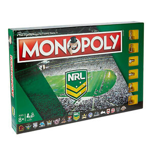 NRL Monopoly Board Game NRL Edition NEW - FREE POST