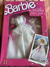 1991 Barbie Bride Wedding Of The Year Dress Set New Old Stock Mattel Doll