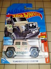 Hot Wheels 2018 '15 Land Rover Defender Double Cab Tan