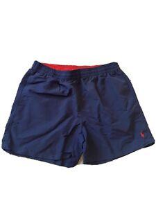 Ralph Lauren Navy Blue Swimming Shorts Men Size XL