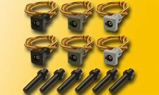 Viessmann 6806 HO Kontaktstecksockel-Set, 6 Stück  #NEU in OVP#