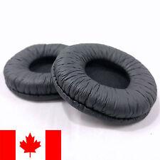 Pair of Ear Pads Cushions Covers for HDJ 500 Pioneer Headphones - Black