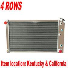 4 Row Radiator For Chevy Monte Carlo 1981-1987 /Camaro 1980-81/El Camino 1980-87