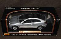 Maisto Diecast Special Edition Mercedes-Benz C-KLASSE SPORTCOUPE C200 1:18 Scale