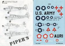 Propagteam Decals 1:48 Piper's L-4H L-4 H Decal Sheet #01648