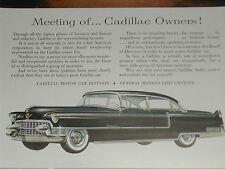 1955 CADILLAC advertisement Cadillac Sixty Special Series, businessmen boardroom