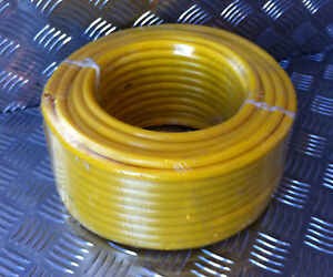 The BEST 6mm x 30mtr YELLOW Microbore Minibore WFP Water Fed Pole hose