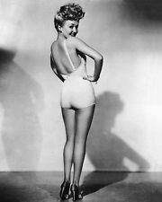 1939 American Actress BETTY GRABLE Glossy 8x10 Photo Celebrity Dancer Print