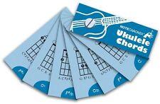 Notecrackers Ukulele Chords Learn to Play Uke Beginner Music Flashcards