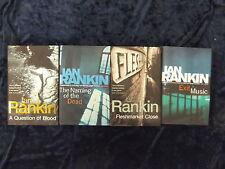 4 CRIME FICTION NOVELS BY IAN RANKIN / HARDBACK // **UK FREEPOST**