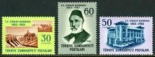 Turkey 1593-1595, MI 1876-1878, MNH. Agricultural Bank, Ankara, centenary, 1963