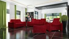 Sofagarnitur Textil Polster Couch Sofa Garnitur Stoffsofa 3 2 1 Wohnlandschaft
