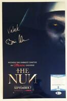 BONNIE AARONS SIGNED 11x17 METALLIC PHOTO THE NUN BECKETT BAS COA 634