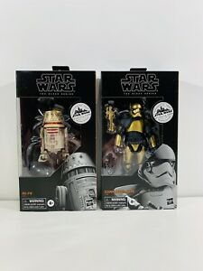Star Wars Black Series LOT R5-P8 Commander Pyre Galaxy's Edge Target SET of 2