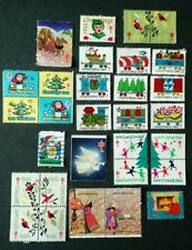 1948 1953 1965 1966 1967 1969 1974 1976 US Christmas Seals Stamps & Blocks