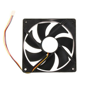 DC Brushless 12V 3-Pin 7-Blades Computer Case Cooling Fan Quiet Radiator Cooler