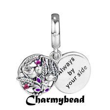 New  Genuine  Pandora Silver/ CZ/ ❤ Always By Your Side  ❤ Dangle 797671CZRM