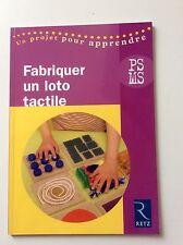 Retz Maternelle FABRIQUER UN LOTO TACTILE POUR PS / MS