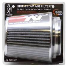 "K&N 3"" to 4"" Round Tapered Universal Air Intake Cone Filter Chrome Truck/SUV/Car"