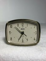 Vintage Linden Wind Up Travel Alarm Clock ~ Made In Germany