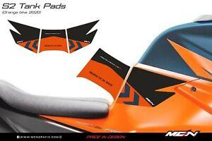 KTM 1290 Superduke R 2020-2021 Tank Pad Graphic Decal Grip Sticker S2