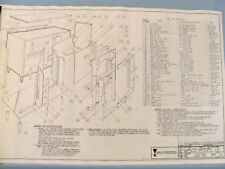 JBL C40 HARKNESS  Plans Large Scale (1/4in.scale) (C34, D-130, 075, 175)