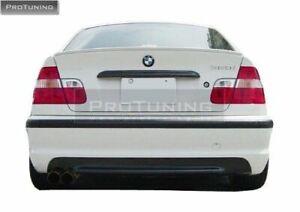 REAR BUMPER AND DIFFUSER FOR BMW 3 SERIES E46 SEDAN SALOON MODELS