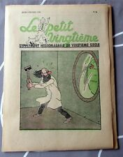 TINTIN HERGE LE PETIT VINGTIEME NO 5  DE 1938 QUASI NEUF
