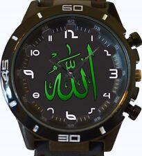 Alá religión del Islam Nuevo Gt Series de deportes Unisex Regalo Reloj