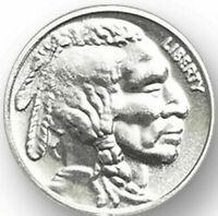 Buffalo/Indian-1/10th Oz .999 Fine Fractional Bullion Rounds, Choose How Many
