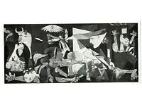 POSTAL PABLO RUIZ PICASSO 1937 EL GUERNICA PINTOR PINTURA GUERRA CIVIL ESPAÑOLA