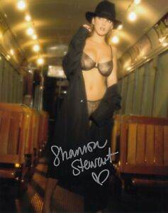 SHANNON STEWART signed 10 x 8 Photo Guaranteed Authentic  AFTAL DEALER #199