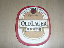 """SOUS-BOCK Mutzig """"old Lager"""""""