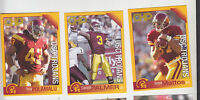 2002 CHP SAFETY USC TROJANS SET CARSON PALMER HEISMAN TROY POLAMALU STEELERS SGA