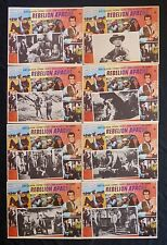 APACHE UPRISING RORY CALHOEN CORINNE CALVET LON CHANEY LOBBY CARD SET 1965
