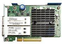 HP (764285-B21) FDR 544+FLR-QSFP Dual Port - 10/40Gb QSFP (764737-001) HCA
