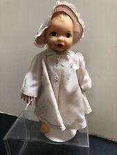 """10"""" Antique Vintage Terri Lee Vinyl """"Linda Baby"""" Tagged Dress #S"""