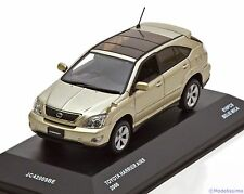1:43 J-Collection Toyota Harrier AIRS 2006 pearlsilver ltd. 816 pcs.