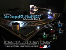 ICE COLD CUSTOMS USA / Color Changing Pop-Up  LED KIT for Technics 1200/1210