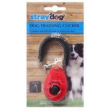 Professional addestramento del cane Clicker Trainer Strumento per DOG PUPPY CUCCIOLI Portachiavi