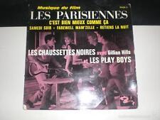 Les Chaussettes Noires Avec Gillian Hills Et Les Play Boys - 1962 VG