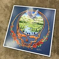 "Grateful Dead Pegasus - 13""x13"" Litho Art Print Poster - signed M.DuBois"