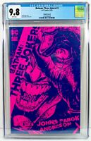 BATMAN THREE JOKERS #3 CGC 9.8 - 1:25 Retailer Incentive Pink Sketch Variant B