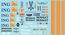 1/10 sticker R. R29 ING (2009) F1 Decal Sheet PD1333