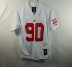 Jason Pierre Paul New York Giants NFL Football Jersey Reebok Youth MEDIUM 10 12