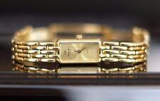 Raymond Weil Geneve Ladies 18k Gold Electroplate Bracelet Watch Swiss Made AS-IS
