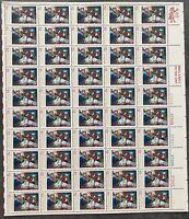 USA Briefmarken Bogen 50x 13 Cent 1976 Christmas  #30639-S