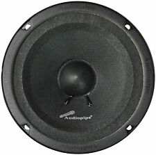 "Audiopipe APMB6SB Midbass 6"" 125w Rms Sealed Back Speaker"
