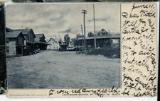 MOUNT POCONO  PA POSTCARD 1912 mailed  DL&W LACKAWANNA RAILROAD DEPOT