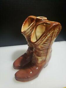 McCoy Cowboy Boot Ceramic Planter
